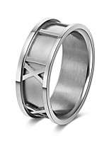 cheap -Men's Women's Band Rings European Rock Stainless Jewelry Daily Holiday