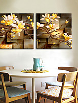 cheap -Canvas Print Modern,Two Panels Canvas Square Print Wall Decor Home Decoration