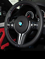 cheap -Automotive Steering Wheel Covers(Leather)For BMW All years 3 Series 5 Series X1 X5 320Li X6 X4 X3