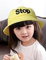 cheap -Girls' Hats & Caps,All Seasons Cotton Yellow