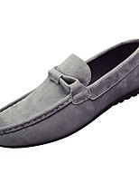 cheap -Men's Shoes Cashmere Spring Fall Moccasin Loafers & Slip-Ons for Casual Blue Gray Black