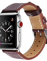 cheap -Watch Band for Apple Watch Series 3 / 2 / 1 Apple Modern Buckle Leather Wrist Strap
