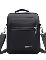 cheap -Men Bags Nylon Shoulder Bag Zipper for Casual Outdoor Winter Fall Brown Black