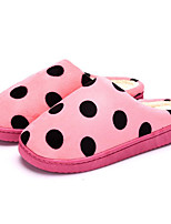 cheap -Women's Shoes Fabric Spring Fall Comfort Slippers & Flip-Flops Flat Heel for Casual Wine Pink Red Coffee Gray
