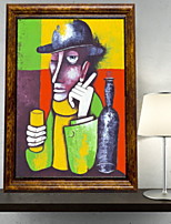 economico -Ad olio Decorazioni da parete,Lega di alluminio Materiale con cornice For Decorazioni per la casa Cornice Interno