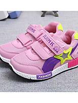 Недорогие -Девочки обувь Тюль Весна Осень Удобная обувь Кеды для Повседневные Серый Розовый