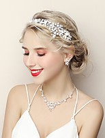 cheap -Women's Jewelry Set Rhinestone Fashion Wedding Evening Party Alloy 1 Necklace Earrings