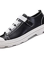 Недорогие -обувь Полиуретан Весна Осень Удобная обувь Кеды для Повседневные Белый Черный Красный
