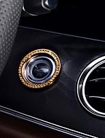Недорогие -автомобильный Крышка переключателя зажигания Всё для оформления интерьера авто Назначение Mercedes-Benz Все года E300L E200L Класс E