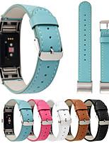 preiswerte -Uhrenarmband für Fitbit Charge 2 Fitbit Handschlaufe Klassische Schnalle Echtes Leder
