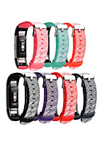 cheap -Watch Band for Fitbit Charge 2 Fitbit Wrist Strap Modern Buckle Silicone