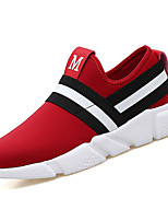 cheap -Shoes PU Spring Fall Comfort Sneakers for Outdoor Black Red