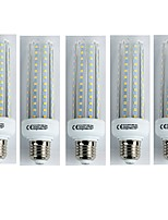 cheap -5pcs 19W E27 LED Corn Lights T30 96 leds SMD 3528 Cold White 1600lm 6400K AC 110-240V