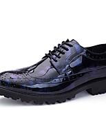 Недорогие -обувь Искусственное волокно Весна Осень Обувь для дайвинга Формальная обувь Туфли на шнуровке для Офис и карьера Для вечеринки / ужина