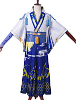 cheap -Inspired by Onmyoji Abe no Seimei Video Game Cosplay Costumes Cosplay Suits Other Griddle Top Pants Glove Headwear