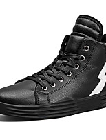 cheap -Men's Shoes Synthetic Winter Fall Comfort Sneakers for Athletic Casual Black