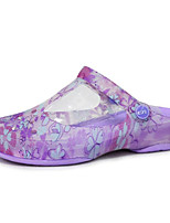 cheap -Women's Shoes TPU Spring Fall Comfort Slippers & Flip-Flops Flat Heel for Casual Pink Purple