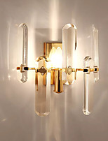 cheap -Crystal Contemporary Wall Lamps & Sconces For Living Room Study Room/Office Metal Wall Light IP20 220-240V 110-120V 5W