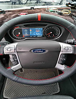 cheap -Automotive Steering Wheel Covers(Leather)For universal Ford General Motors Mondeo