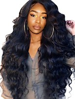 cheap -Lace Front Human Hair Wigs Pre Plucked 250% Density Brazilian Frontal Hair Wig Body Wave Bleached Knots Remy Sunny Queen