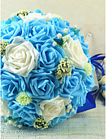 Недорогие -Свадебные цветы Букеты Свадьба Шёлковая ткань рипсового переплетения 35 см 35 см