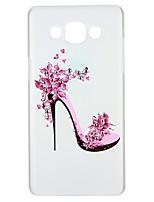 economico -Custodia Per Samsung Galaxy A5(2016) A3(2016) Con diamantini Decorazioni in rilievo Fantasia/disegno Custodia posteriore Frasi famose