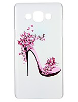 abordables -Funda Para Samsung Galaxy A5(2016) A3(2016) Diamantes Sintéticos En Relieve Diseños Cubierta Trasera Palabra / Frase Flor Dura
