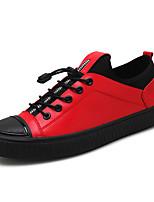 economico -Per uomo Scarpe Materiali personalizzati Primavera Autunno Comoda Sneakers per Casual All'aperto Nero Grigio Rosso