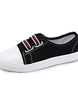 cheap -Women's Shoes Canvas Spring Fall Comfort Sneakers Flat Heel for Casual Yellow Black White