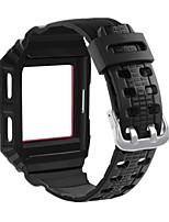 economico -Cinturino per orologio  per Fitbit ionic Fitbit Custodia con cinturino a strappo Chiusura moderna Silicone