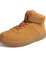 cheap -Boys' Shoes Synthetic Microfiber PU Winter Fall Comfort Sneakers for Casual Camel Black