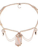 cheap -Women's Alloy Chain,Gold Silver Vintage Casual