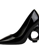 Недорогие -Для женщин Обувь Дерматин Весна Осень Удобная обувь Обувь на каблуках На толстом каблуке Заостренный носок для Для вечеринки / ужина