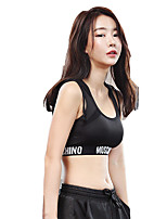 cheap -Women's Sports Bras Quick Dry Windproof Wearable Super Slim Breathability Sports Bra for Cheerleader Costumes Running/Jogging Indoor