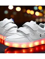 cheap -Boys' Shoes Synthetic Microfiber PU Spring Fall Comfort Sneakers for Casual Pink Blue Black White