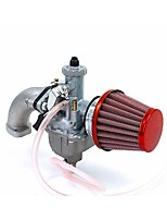 cheap -Mikuni VM22 Carb 26MM Manifold Intake Air Filter Set For 110 125CC Honda Pit Bike ATV