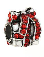 cheap -DIY Jewelry 10 pcs Beads Rhinestone Alloy White Red Blue Irregular Bead 0.45 DIY Bracelet Necklace