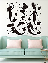 cheap -Landscape People Wall Stickers Plane Wall Stickers Decorative Wall Stickers,Vinyl Home Decoration Wall Decal Window Wall