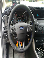 cheap -Automotive Steering Wheel Covers(Leather)For universal Ford 2015 General Motors Focus