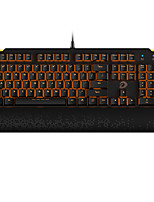 cheap -EK815 Wired RGB Backlit Black Switches Blue Switches 104 Mechanical Keyboard Spill-Resistant