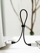 preiswerte -USB2.0 Typ-C USB-Kabeladapter Tragbar Schnelle Aufladung Für Samsung Huawei LG Nokia Lenovo Motorola Xiaomi HTC Sony 120 cm Aluminium