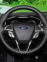 abordables -cubre volante automotriz (cuero) ford todos los años escolta mondeo kuga ecosport edge focus