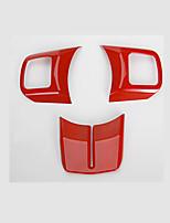 preiswerte -Autolenkraddekorrahmen diy Autoinnenraum für Jeep 2011 2012 2013 2014 2015 2016 2017 wrangler Plastik