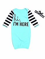cheap -Baby Solid One-Pieces,Cotton Spring Light Blue Blushing Pink