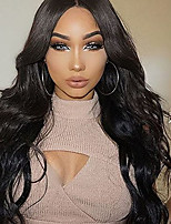 cheap -Loose Wave Brazilian Virgin  Hair Lace Front Wigs With Baby Hair Glueless Lace Wigs For Black Women