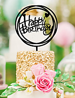 cheap -Wedding Birthday Acrylic Wedding Decorations Classic Theme All Seasons