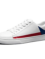 cheap -Men's Shoes PU Spring Fall Light Soles Sneakers for Casual White/Blue White/Green
