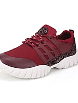 cheap -Men's Shoes Rubber Winter Fall Comfort Sneakers for Casual Black Gray Red Blue
