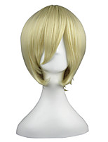 cheap -14inch Short Beige Black Butler Alois Trancy Synthetic Anime Cosplay Wig CS-001C