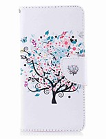 cheap -Case For Nokia Nokia 8 Nokia 6 Card Holder Wallet with Stand Flip Pattern Full Body Tree Hard PU Leather for Nokia 8 Nokia 6 Nokia 5